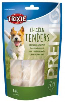 Trixie PREMIO Chicken Tenders   100% Hühnerfilet 75 g (3 Stück)