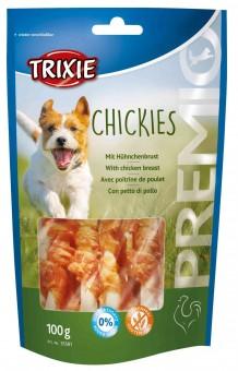 Trixie PREMIO Chickies | Snackknochen für Hunde 10x 100 g | Vorteilspack