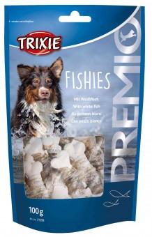 Trixie PREMIO Fishies | Snackknochen mit Fisch (45%)