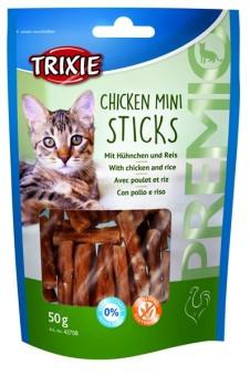 Trixie PREMIO Mini Sticks, Hühnchen & Reis 50 g