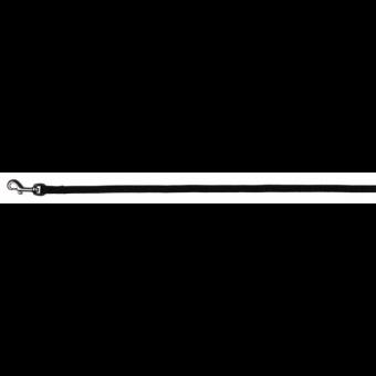 Trixie Premium Leine   schwarz XS: 1,20 m/10 mm