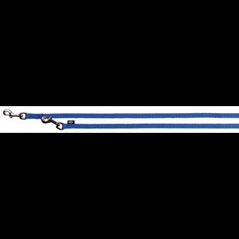 Trixie Premium V-Leine | doppelt | blau XS: 2,00 m/10 mm