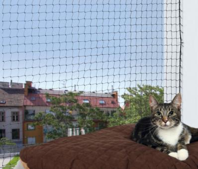Trixie Schutznetz | schwarz 2 × 1,5 m