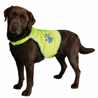 Trixie Sicherheitsweste für Hunde | neongelb M: 50–68 cm