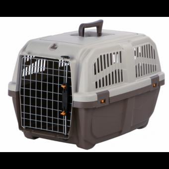 Trixie Transportbox Skudo | taupe-sand S: 40 × 39 × 60 cm
