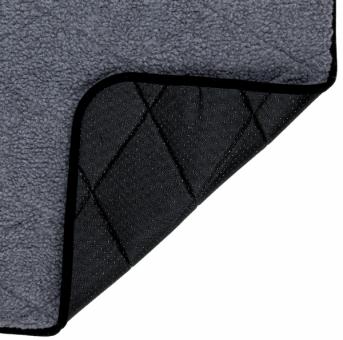 Trixie Wärme-Unterlage | wärmespeichernd | grau 60 × 40 cm