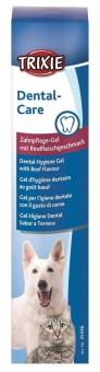 Trixie Zahnpflege-Gel für Hund & Katze | Rindfleischgeschmack