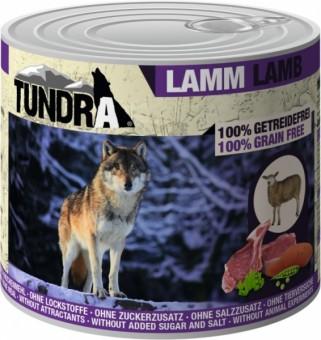 Tundra Dog Lamm | Dose getreidefrei 12x 400 g