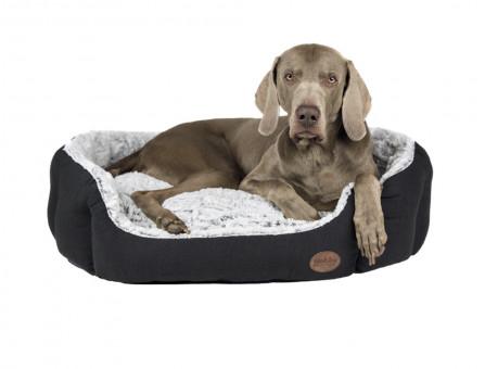 Nobby Komfort Bett CACHO 65x57x22 cm   dunkelgrau