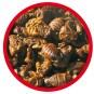 AL-KO-TE Seidenraupen | Snack, Größe: 2x 1,5 kg
