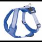 Hunter Geschirr Neopren   blau, Größe: L - 60-76 cm - 20 mm