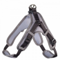 Hunter Geschirr Neopren Vario Quick | reflektierend | schwarz-grau, Größe: M - 55-70 cm - 15 mm