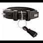 Hunter Hunde-Halsband Cannes, Farbe: schwarz