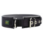 Hunter Hunde-Halsband Neopren Reflect, Farbe: schwarz-grau
