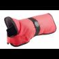 Hunter Hundemantel Denali | wasserabweisend | reflektierend | rot, Größe: 50 cm