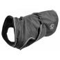 Hunter Hundemantel Uppsala | wasserabweisend | reflektierend | schwarz, Größe: 50 cm