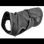 Hunter Hundemantel Uppsala | wasserabweisend | reflektierend | schwarz, Größe: 75 cm