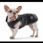 Hunter Hundemantel Uppsala Softshell  | wasserabweisend | winddicht | schwarz, Größe: 80 cm