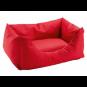 Hunter Hundesofa Gent | antibakteriell | rot, Größe: S - 60 x 45 cm