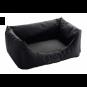 Hunter Hundesofa Gent | antibakteriell | schwarz, Größe: L - 100 x 70 cm