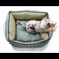 Hunter Hundesofa List | grau, Größe: S - 60 x 40 cm