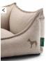 Hunter Hundesofa Livingston | beige, Größe: M - 80 x 60 cm