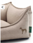 Hunter Hundesofa Livingston | beige, Größe: L - 100 x 75 cm