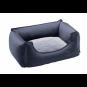 Hunter Hundesofa Sanremo | blau, Größe: 80 x 60 cm