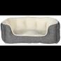 Trixie Bett Davin | grau-creme, Größe: 60 × 45 cm