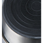 Trixie Edelstahlnapf | Gummiboden, Größe: 2,5 l/ø 24 cm