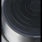 Trixie Edelstahlnapf | Gummiboden, Größe: 0,5 l/ø 14 cm