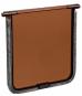 Trixie Ersatzklappe für Freilauftür, Farbe: braun