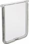 Trixie Ersatzklappe für Freilauftür, Farbe: weiß