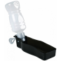 Trixie Flasche mit Trinknapf | Kunststoff, Größe: 250 ml