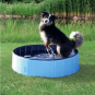 Trixie Hundepool | hellblau-blau, Größe: ø 80 × 20 cm
