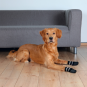 Trixie Hundesocken | Anti-Rutsch | 2 Stück | schwarz, Größe: XS-S