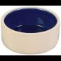 Trixie Keramiknapf | creme-blau, Größe: 0,35 l / ø 12 cm