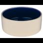 Trixie Keramiknapf | creme-blau, Größe: 1,0 l / ø 18 cm