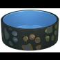 Trixie Keramiknapf Jimmy, Größe: 1,5 l/ø 20 cm 2 x blau