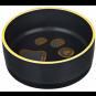 Trixie Keramiknapf mit Gummirand, Größe: 0,4 l/ø 12 cm
