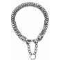 Trixie Kettenwürger zweireihig | zugbegrenzt | verchromt | 2,0 | 2,5 mm, Größe: 50 cm/2,5 mm