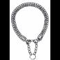 Trixie Kettenwürger zweireihig | zugbegrenzt | verchromt | 2,0 | 2,5 mm, Größe: 65 cm/2,5 mm
