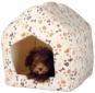 Trixie Kuschelhöhle Lingo | weiß-beige, Größe: 40 × 45 × 40 cm