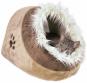 Trixie Kuschelhöhle Minou | beige-braun, Größe: 35 × 26 × 41 cm