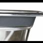 Trixie Napf-Set Eat on Feet mit Klapperschutz, Größe: 2 × 0,45 l/ø 13 cm