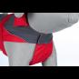 Trixie Regenmantel Lorient | rot-grau, Größe: L: 60 cm
