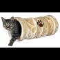 Trixie Spieltunnel | Plüsch | beige, Größe: ø 22 × 60 cm