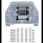 Trixie Transportbox | Aluminium, Größe: M: 55 × 62 × 78 cm