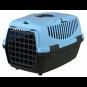 Trixie Transportbox Capri | dunkelgrau-pastellblau, Größe: XS: 32 × 31 × 48 cm