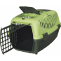Trixie Transportbox Capri | dunkelgrün-hellgrün, Größe: XS-S: 37 × 34 × 55 cm